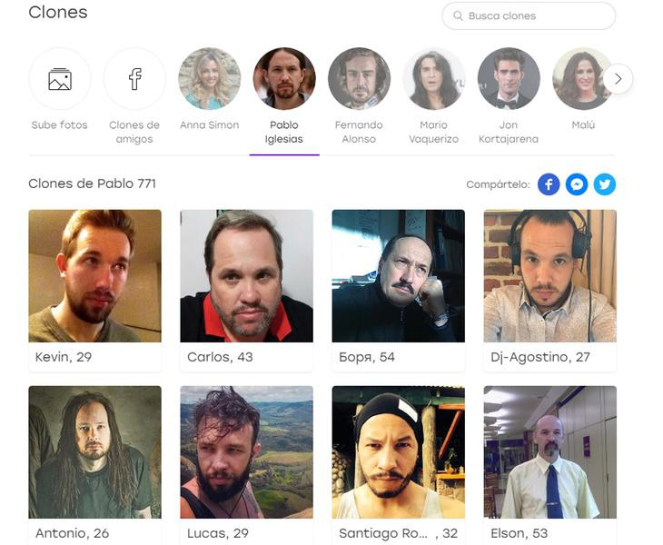 Los clones de Pablo Iglesias