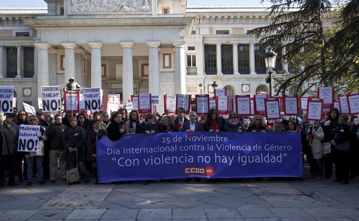 Los colectivos feministas reclaman medidas más efectivas contra la violencia dde Género