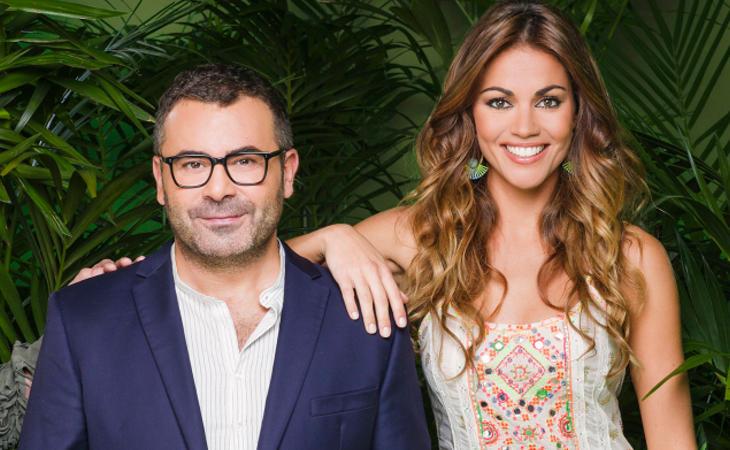 Jorge Javier Vázquez y Lara Álvarez forman una pareja con un feeling muy especial