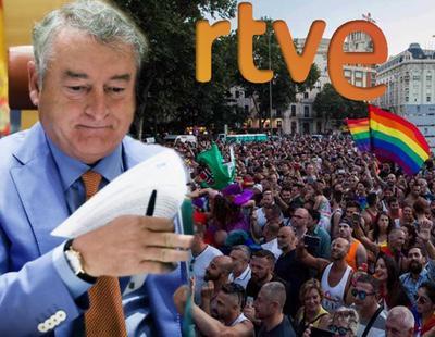 """TVE solo informa del World Pride para hablar de """"basura"""" y """"consumo de alcohol"""""""