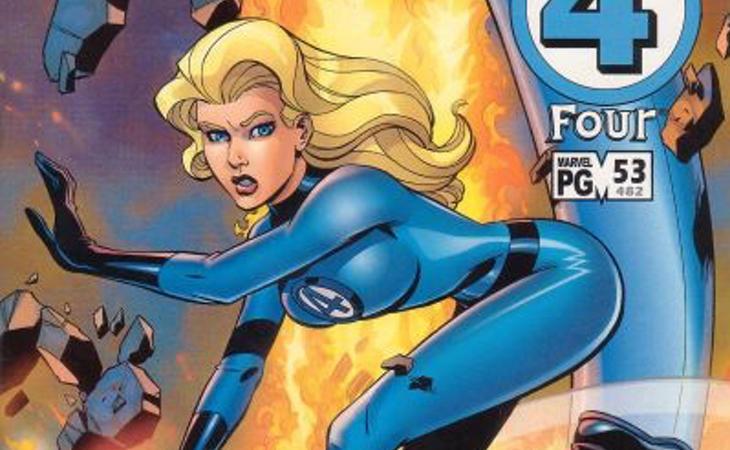 Sue Storm, una de las superheroínas más poderosas de Marvel
