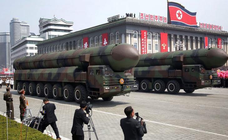 Varios de los misiles en poder de Corea del Norte