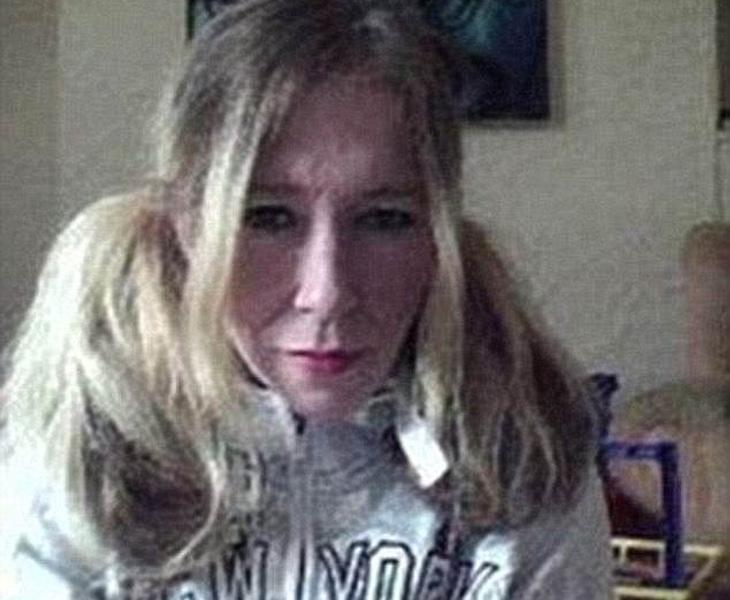 Sally Jones antes de partir a la Yihad
