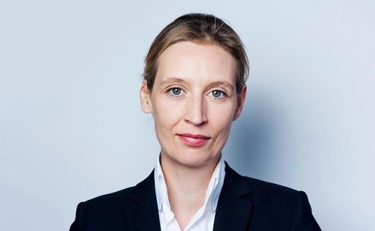 Alice Weidel, lesbiana y líder de un partido radical en contra del matrimonio homosexual
