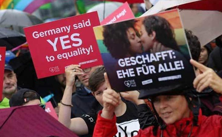 Aprobado el matrimonio igualitario en Alemania