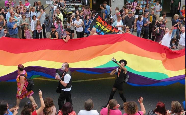 Brighton, una de las ciudades predilectas del colectivo LGTBI