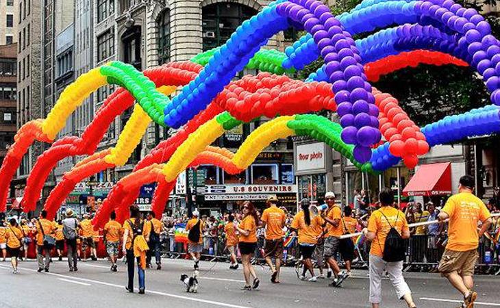 Desfile del Orgullo LGTBI en Nueva York
