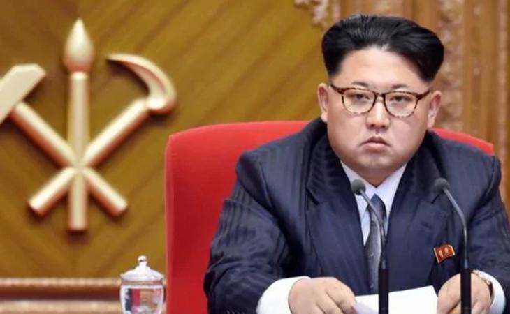 El presidente de Corea del Norte, Kim Jong Un