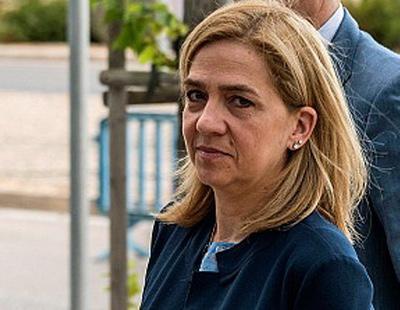 La Infanta Cristina exige que el Estado le devuelva sus 322 mil euros