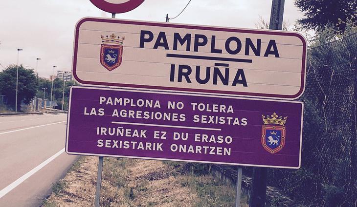Pamplona no tolera las agresiones sexistas