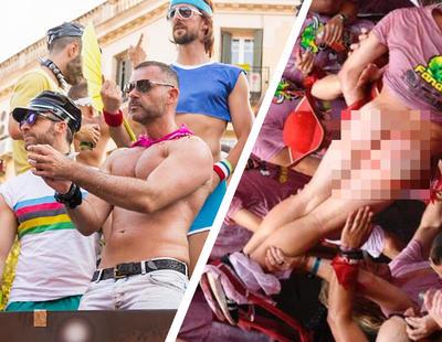 El injusto doble rasero con el que se juzga y criminaliza el Orgullo LGTBI frente a los Sanfermines