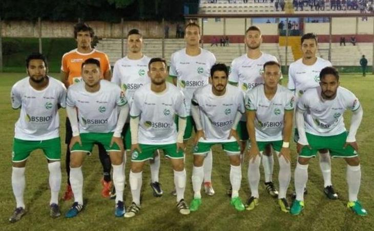 Una imagen del Sport Clube Gaúcho antes de disputar un partido
