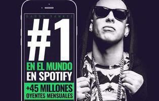 Daddy Yankee se convierte en el primer latino de la historia en alcanzar el número uno de Spotify