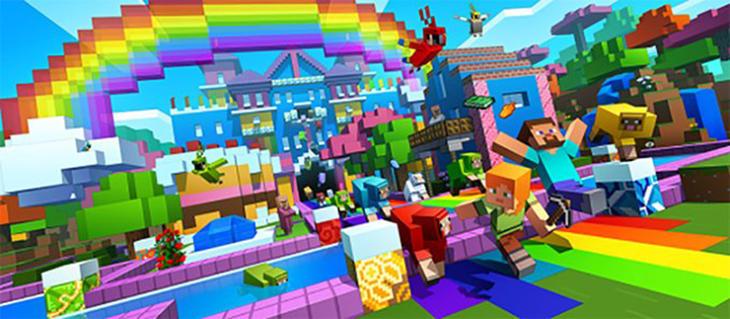 'Minecraft' se ha llenado de color esta semana
