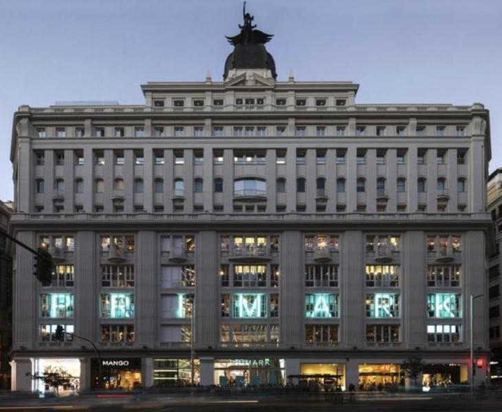 Fachada de la flagship de Primark en la Gran Vía de Madrid