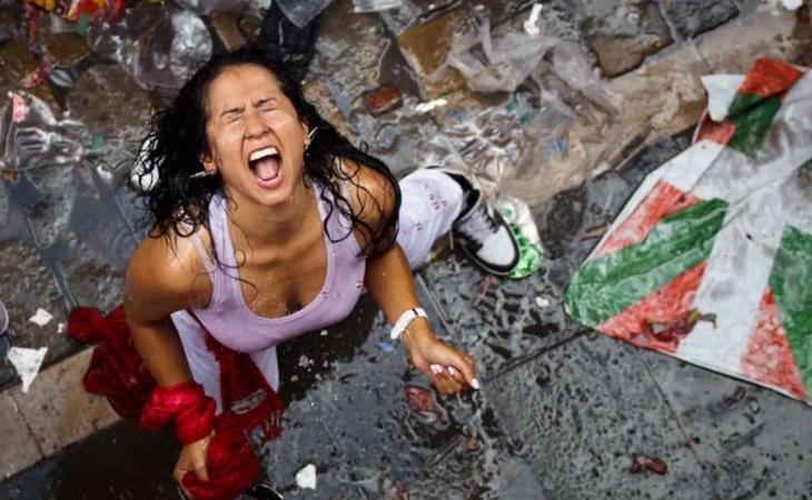 Las agresiones sexistas en Sanfermines son una lacra a combatir por las autoridades