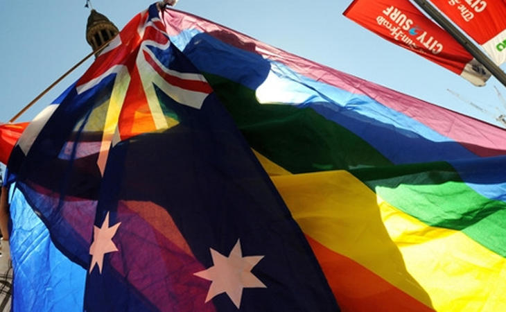 El matrimonio igualitario no es legal en Australia