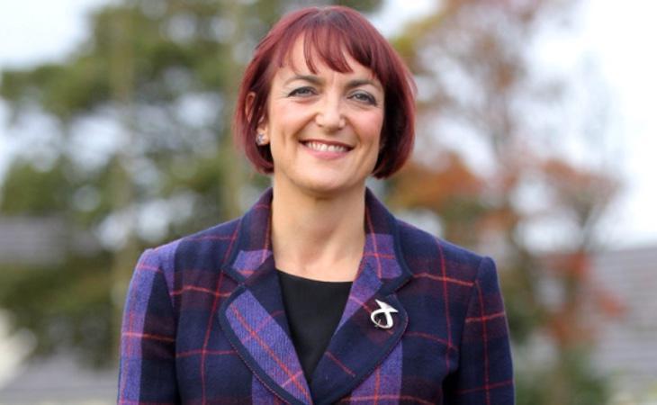 La Secretaria de Igualdad escocesa, Angela Constance