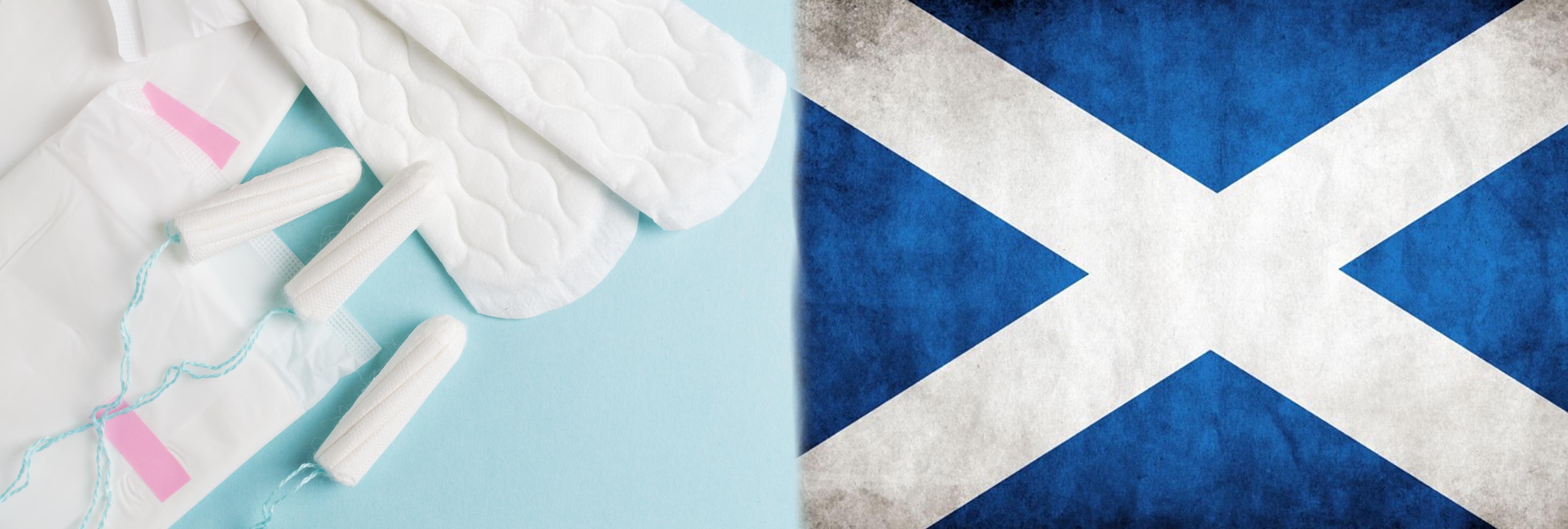 Escocia, primer país del mundo en regalar tampones y compresas a mujeres con problemas económicos