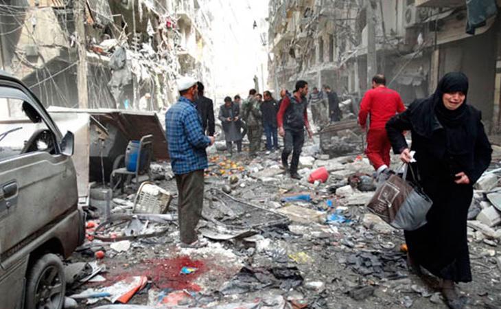 Los ataques contra la población civil se están intensificando