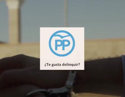 """""""¿Te gusta delinquir?"""": el vídeo de Podemos sobre la corrupción que ha enfadado al PP"""