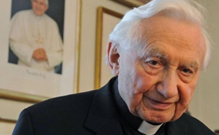 El hermano de Benedicto XVI, Georg Ratzinger