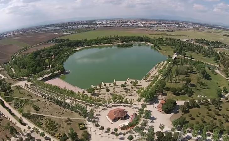 El parque Polvoranca es uno de los que mayor extensión mantiene dentro de la Comunidad de Madrid