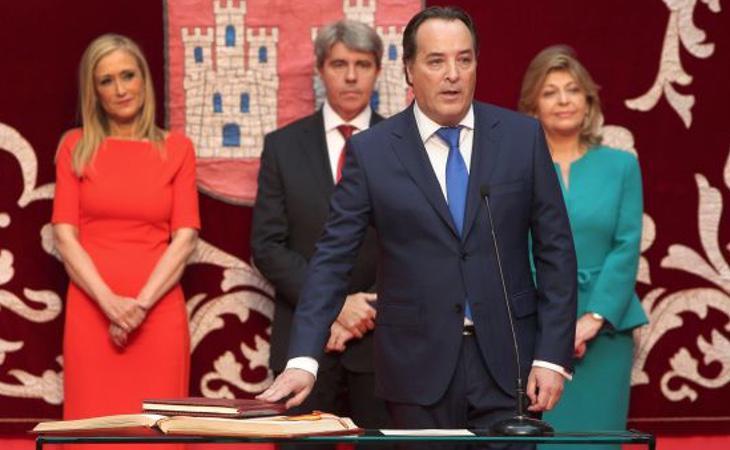 El Consejero de Medio Ambiente, Jaime González Taboada