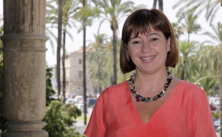 La presidenta balear, Francina Armengol