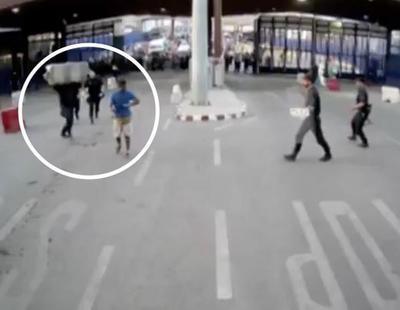 Agreden a varios policías en Melilla con un cuchillo al grito de 'Alá es grande'
