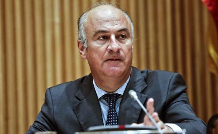 El secretarui de Estado de Cultura, Fernando Benzo