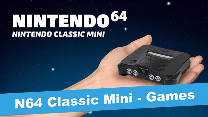 Imagen de una hipotética 'Nintendo 64 Mini'