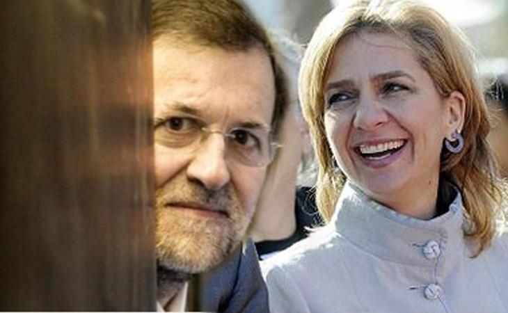 Mariano Rajoy hace un infanta Cristina y asegura no tener