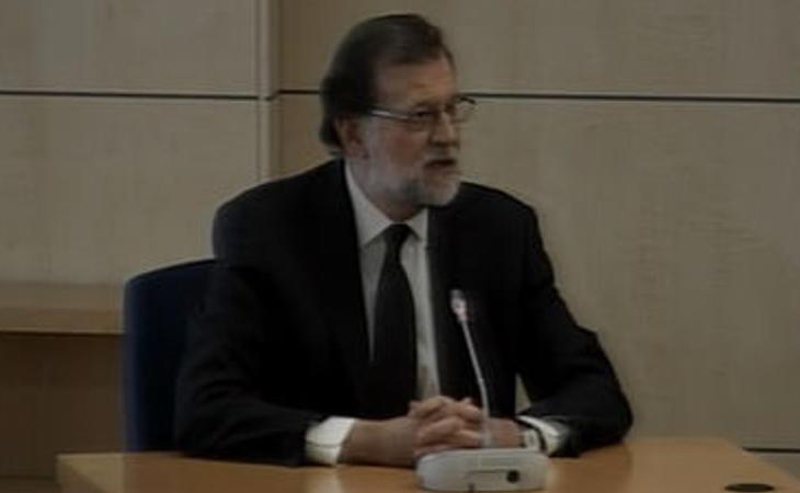 El presidente del tribunal no quiere que se pregunte a Rajoy sobre los