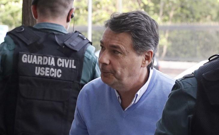 Ignacio González detenido por la Guardia Civil