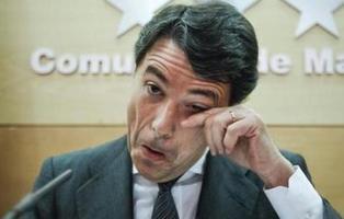 """Ignacio González suplica llorando  que le dejen salir de prisión porque """"es muy duro"""""""