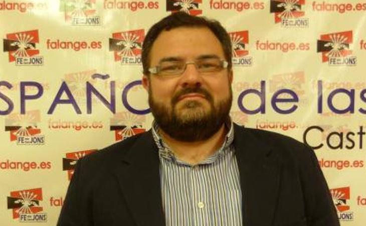 El líder de Falange Española, Norberto Pico