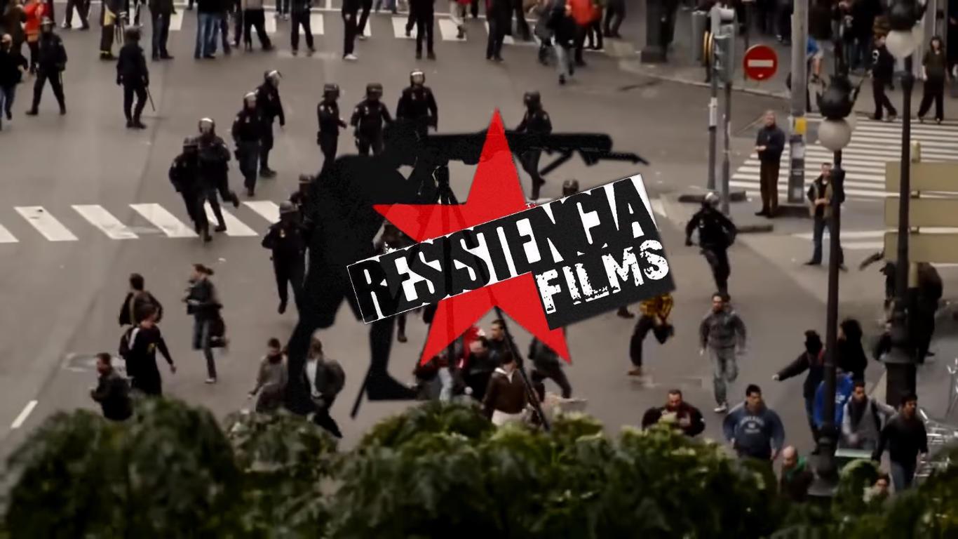 Fragmento de uno de los vídeos de Resistencia FIlma