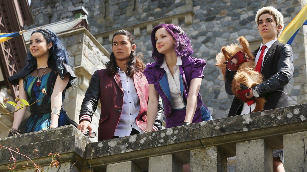 Protagonistas de 'Los Descendientes 2'