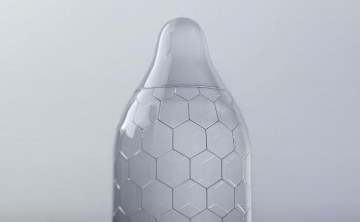 Prototipo de un preservativo de polietileno