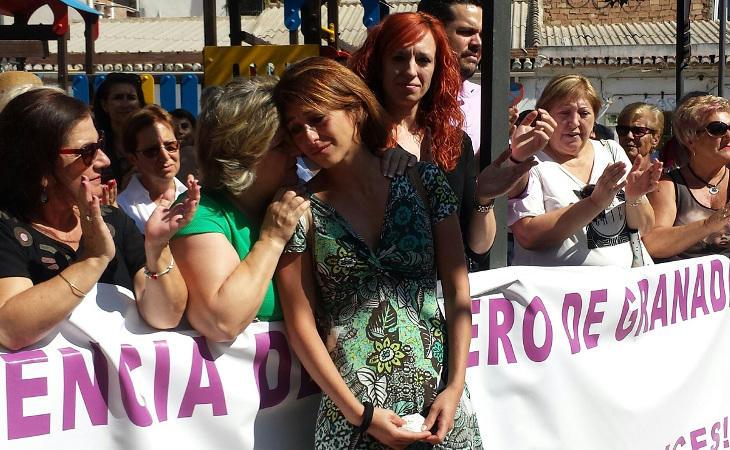 El pueblo apoya a Juana bajo el lema 'Juana está en mi casa'