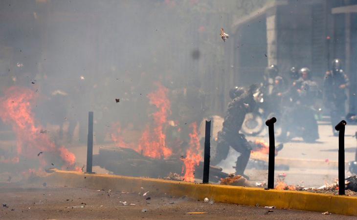 La situación en las calles de Caracas es insostenible