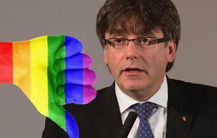 Puigdemont compara el independentismo catalán con la lucha de los homosexuales