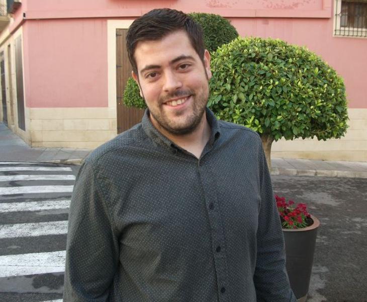 El exsecretario general de la JS de Elche, Alejandro Díaz