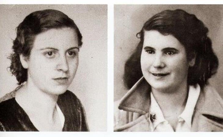 Ana López Gallego y Luisa Rodríguez de Lafuente