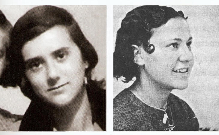 Dionisia Manzanero y Julia Conesa