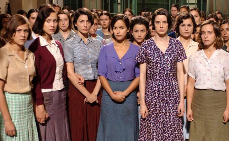 Imagen de 'Las Trece Rosas', película sobre la historia de estas mujeres dirigida por Emilio Martínez Lázaro (2007)