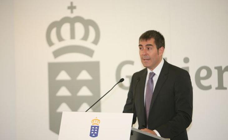El presidente de Canarias, Fernando Clavijo Batlle