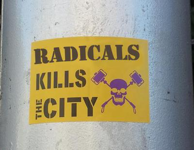Turismofobia: Radicals kills the city