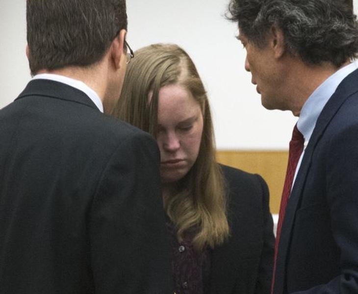 La joven se derrumbó al conocer la sentencia